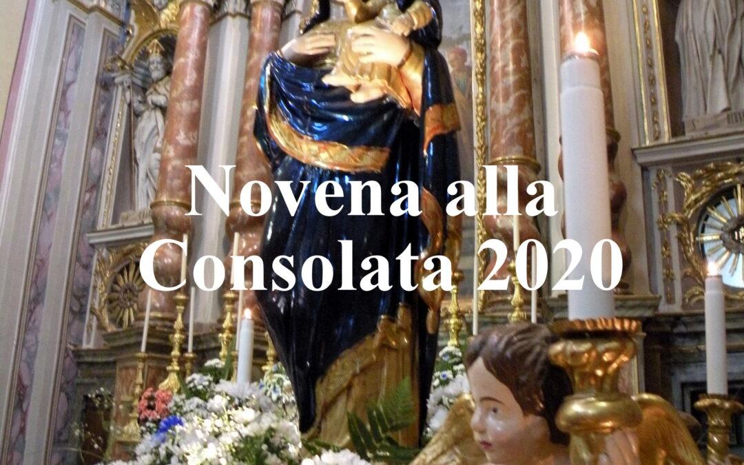 Ogni sera alle ore 21,00 dall'11 al 19 giugno Novena alla Consolata